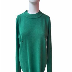 Kim Rogers Sweater Long Sleeves Knit Pullover Sz M